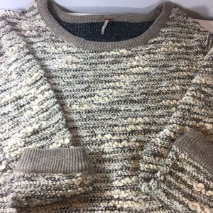 Free people dust bunny sweater large